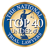 Top 40 Under 40 Trial Lawyers Badge logo