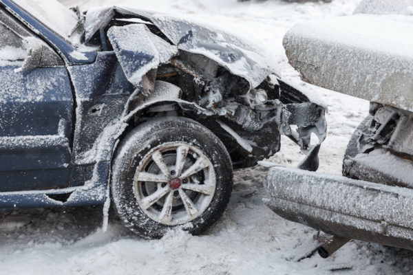 austin tx icy road car accident lawyer